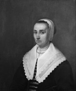 Portret van Jeanne de Planque (1591-1663)