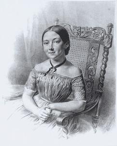 Portret van Pauline Hermine Elizabeth Gildemeester (1831-1900)