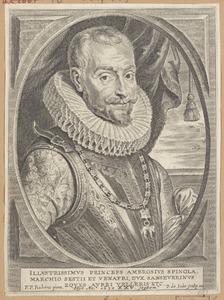 Portret van Ambrogio de Spinola (1569-1630)