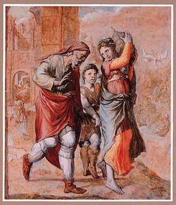 De verdrijving van Hagar en Ismael (Genesis 21:9-21)