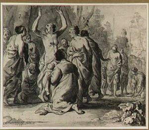 De dochter van Farao vindt Mozes in het biezen mandje (Exodus 2:1-10)