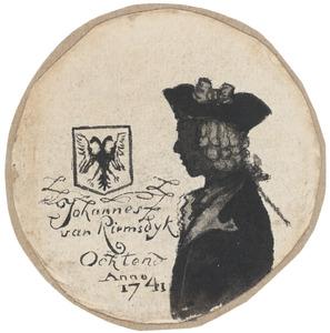 Portret van een man, waarschijnlijk Johannes van Riemsdijk (1720-....)