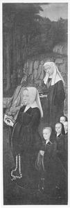 De H. Elisabeth van Hongarije met Elisabeth van der Meersch en haar vier dochters