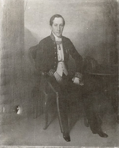 Portret van Willem Carel Emile de Geer (1809-1856)