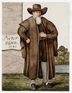 Portret van Pieter Gijsen (?-?)