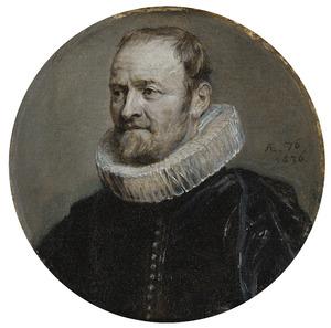 Portret van Nicolas Rockox (1560-1640) op 76-jarige leeftijd