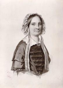 Portret van Frederika Louise barones van Heerdt (1792-1858)