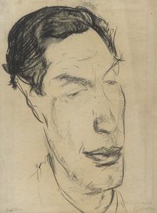 Portret van Dirk Bus (1907-1978)