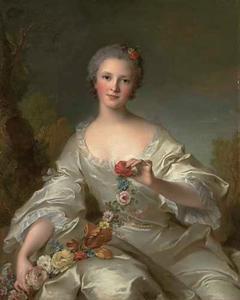 Portret van Marguerite-Francois-Bernard van Reims, Madame Dupleix de Bacquencourt
