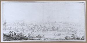 Panoramalandschap (bij Renkum?)