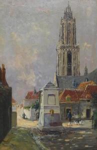 Cunerakerk te Rhenen gezien van de Markt