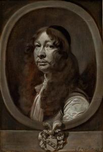Portret van de Zweedse officier Heinrich von Delwig (1620-1696)