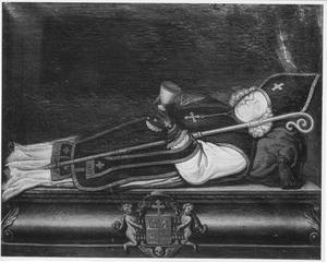 Portret van bisschop Cornelis Steenoven (1662-1725)