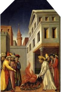 Petrus en het vuurwonder voor de Sultan