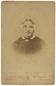 Portret van Arendje Elisabeth van Duijne (1847-...)