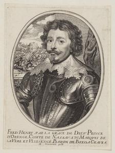 Portret van Frederik Hendrik van Oranje- Nassau (1584-1647)