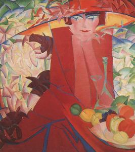 Portret van Else Berg (1877-1942)