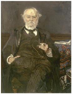 Portret van mr. Sam van Houten, vader van de kunstenares