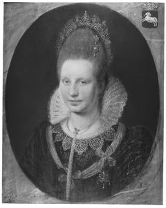 Portret van Theodora Maria van Salland (?-1639)