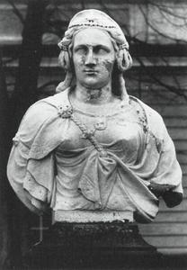 Portret van Albia Ternitia, moeder van de Romeinse keizer Otho