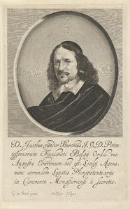 Portret van Jacob van der Burgh (ca. 1600-1659)