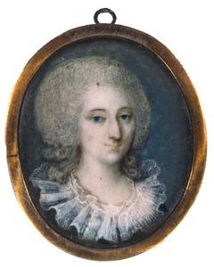 Portret van Henriette Philippine Wilhelmina Frederica Barones Quarles de Quarles (1760-1822)