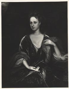 Portret van Catharina Maria van der Dale gezegd Vallensis (1676-1745)