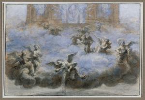 Zeven engelen gieten zeven schalen met gramschap uit over de aarde (Openbaring 16:1-21)