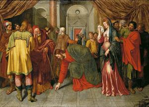 Jezus en de van overspel beschuldigde vrouw