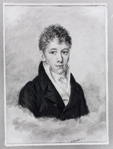 Portret van Jan Hendrik Ameshoff (1794-1873)
