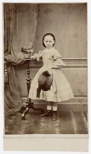 Portret van Auguste Caroline Isabelle Worbert van Wassenaer Starrenburg (1854-1919)