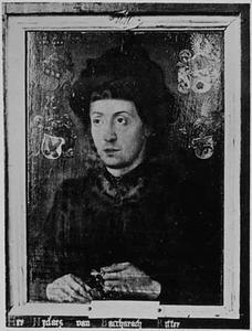 Portret van een man, mogelijk heer Nijders, ridder van Bacharach