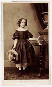 Portret van Frederique Louise Adrienne Pelerin (1851-1939)