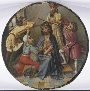 De bespotting en doornenkroning van Christus