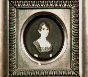 Portretminiatuur van Johanna Huberta Tra Kranen (1787-1809)