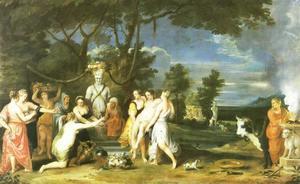 Het offer aan Priapus