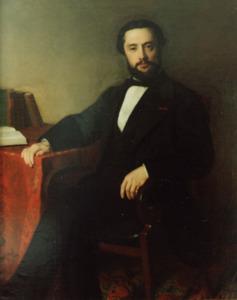 Portret van Paulus Cornelis van Vlissingen (1829-1906)