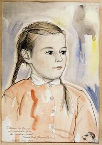 Portret van Louise Ariane de Brauw (1955)