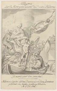 Allegorie op de dood van de kunstenaar Giambattista Maderni (1758-1803)