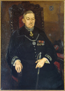 Portret van Leopold Bernard Jozef van Oppen (1871-1941)