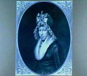 Portret van Gezina Scheltinga (1766-1798)