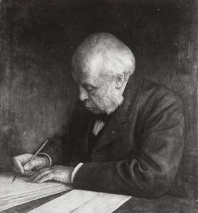 Portret van Johan Cornelis van Eelde (1833-1910)