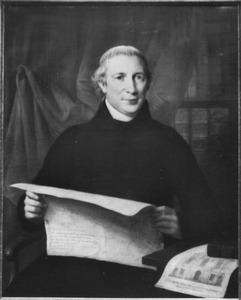 Portret van pastoor Gerardus Antonius van der Lugt (1775-1855)