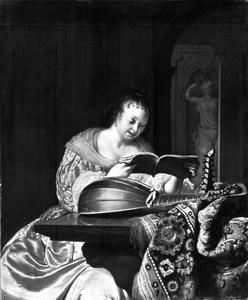 Zingende vrouw