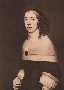 Portret van Geertruijd Coenen (1635-1716)