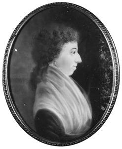 Portret van Barendina Cornelia Gouzy (1772-1858)
