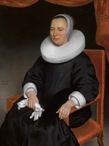 Portret van een 52-jarige vrouw