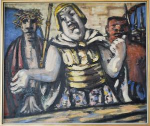 Christus en Barrabas