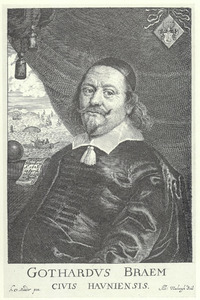 Portret van koopman Gothard Braem (1601-1655)