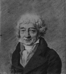 Portret van de schilder Gerard van Spaendock (1746-1822)